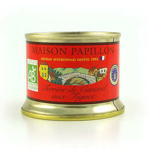 Maison Papillon - Organic Duck and Fig Pâté