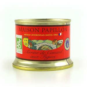 Maison Papillon - Terrine de canard aux figues bio