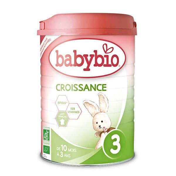 lait bio croissance en poudre d s 10 mois baby bio. Black Bedroom Furniture Sets. Home Design Ideas