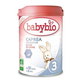 Baby Bio - Lait de chèvre bio Caprea - 10 mois à 3 ans