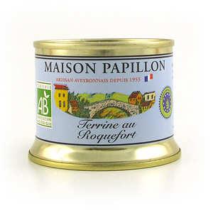 Maison Papillon - Terrine au roquefort bio
