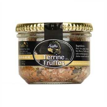 Délices de truffes - Terrine à la truffe de Lozère