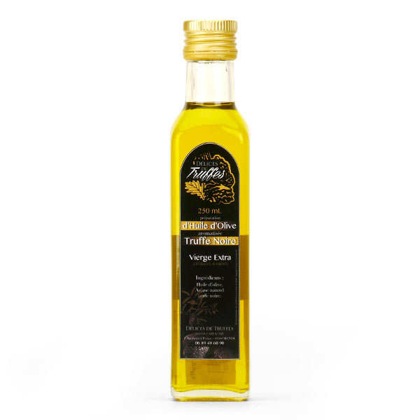 Black Truffle Infused Olive Oil From Lozère