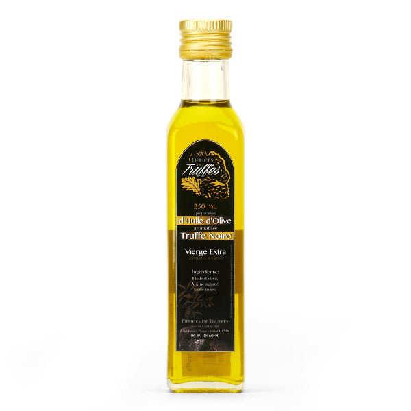 Huile d'olive extra vierge à la truffe noire