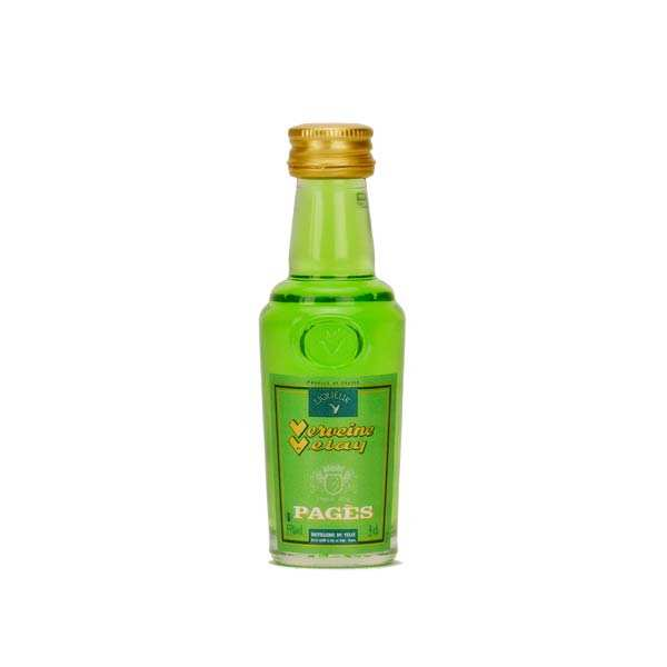 Green Verbena from Velay in France in Mignonnette 55%