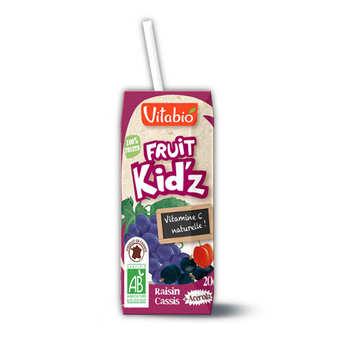 Vitabio - Organic Kid'z Fruit Juice Grapefruit Blackcurrant Acerola