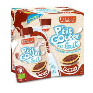 "Vitabio - Organic ""P'tit Goûter"" with Milk and Cocoa"