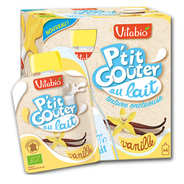 "Vitabio - Organic ""P'tit Goûter"" with Milk and Vanilla"