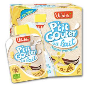"Vitabio - Organic ""P'tit Goûter"" with Milk and Vanilla"