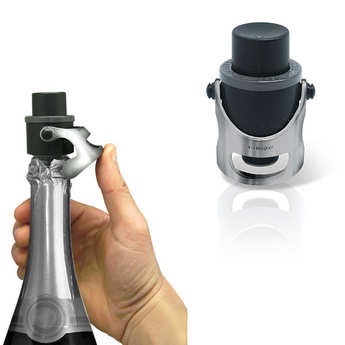 Vin Bouquet - Metal Champagne Stopper 2 in 1 with Date Stamp