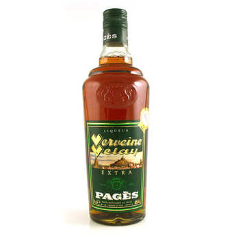Distillerie Pagès - Extra Verveine du Velay (Extra Velay Verbena) - 40%