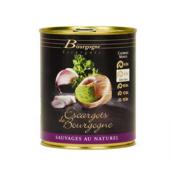 Escargots de Bourgogne en conserve très gros