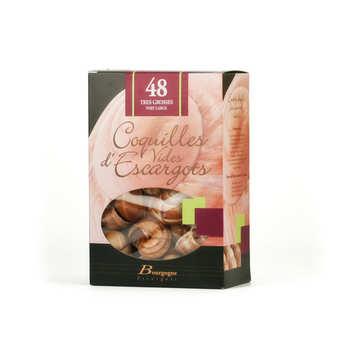 Bourgogne Escargots - Coquilles d'escargot vides très grosses
