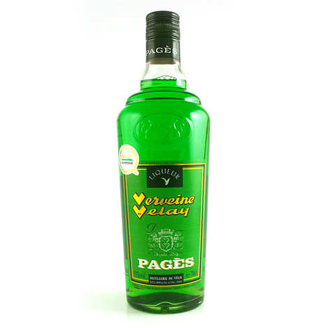Distillerie Pagès - Green Verveine du Velay (Green Velay Verbena) - 55%