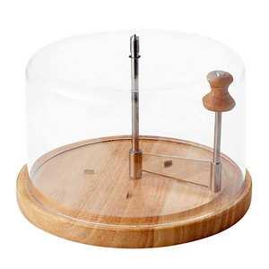 "Joie msc - Cheese Scraper ""Tête de moine"" with a Dome - 17cm diameter"
