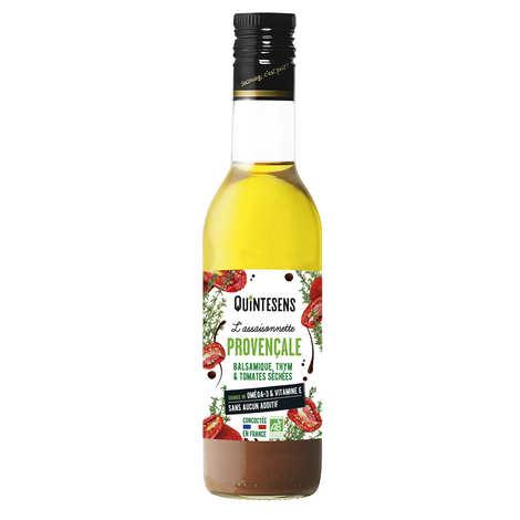 Quintesens - Vinaigrette bio à la provençale 100% naturelle sans émulsion
