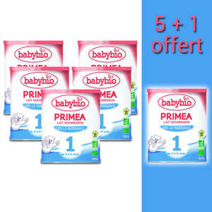 Baby Bio - Organic Instant Milk for Child 5+1 free