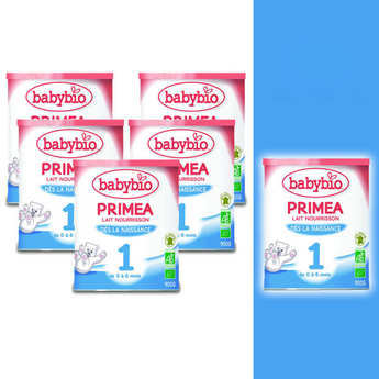 Baby Bio - Organic Instant Milk for Child 5+1 free