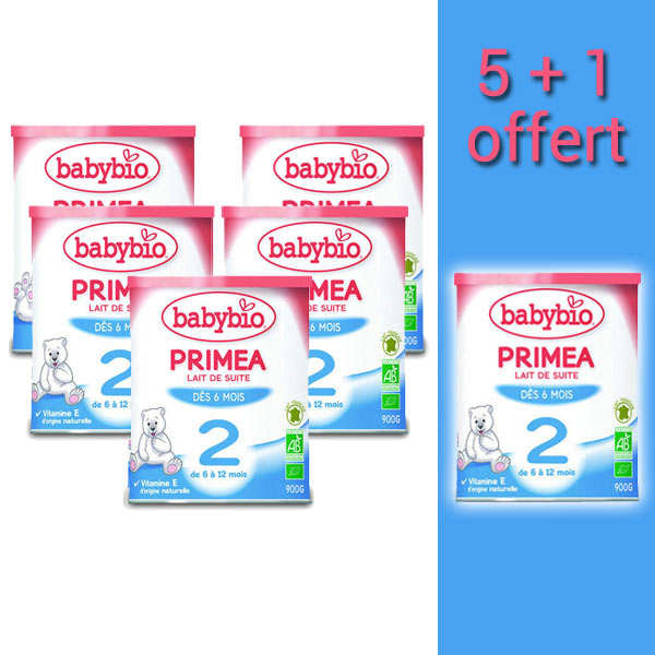 Organic Instant Milk for Child Since 6 Months 5+1 free