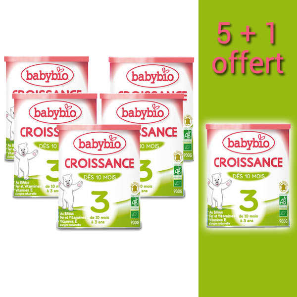 Organic Milk Powder for Kids - from 10 months 5+1 free