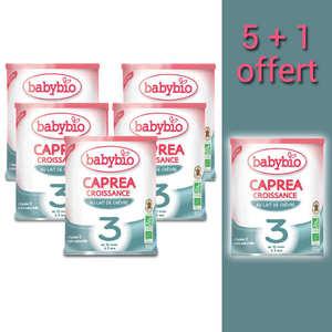 Baby Bio - Organic Goat Milk Caprea - 10 months to 3 years old - promo 5+1