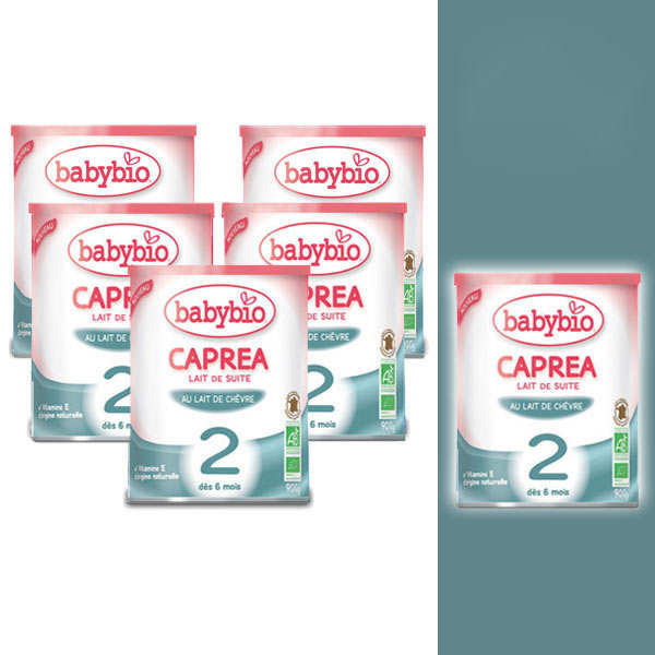 Organic Goat Milk Caprea - from 6 months - 5+1 free