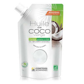 Comptoirs et Compagnies - Huile de coco vierge bio