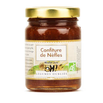 Oh ! Légumes oubliés - Organic medlar jam