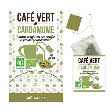 Café vert en sachet à la cardamome bio