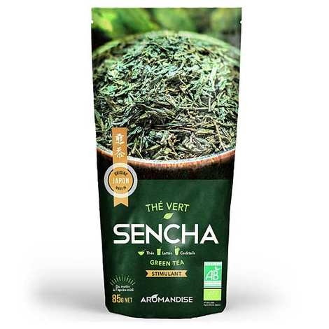 Aromandise - Thé vert Sencha bio