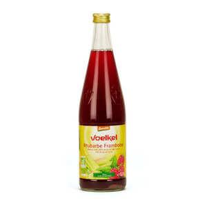 Voelkel GmbH - Boisson de rhubarbe et framboise bio demeter