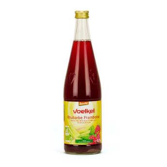 Voelkel GmbH - Rhubarb and Raspberry Organic Drink - Demeter