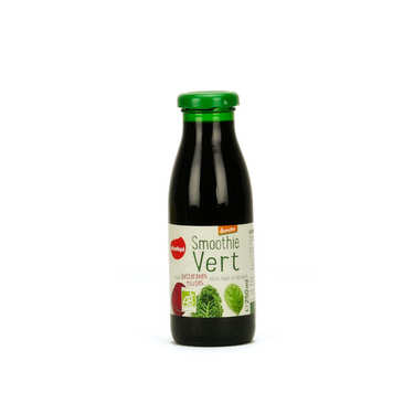 Smoothie vert betterave rouge chou kale et épinard bio demeter