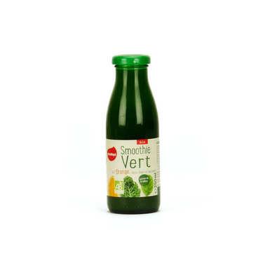 Smoothie vert orange chou kale et épinard bio demeter
