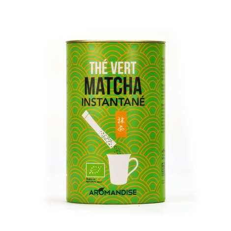Aromandise - Sticks de thé matcha instantané bio