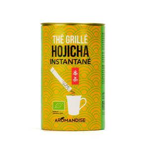 Aromandise - Sticks de thé grillé Hojicha instantané bio