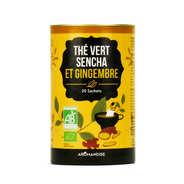 Aromandise - Duo thé vert Sencha et gingembre bio