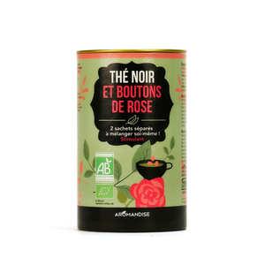 Aromandise - Duo thé noir Darjeeling et boutons de rose bio
