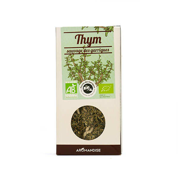Organic Wild Thyme From French Garrigue