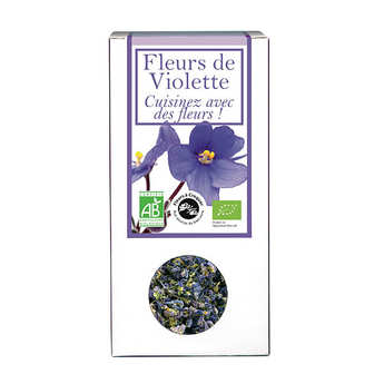 Aromandise - Organic violet flower  - To eat and to cook