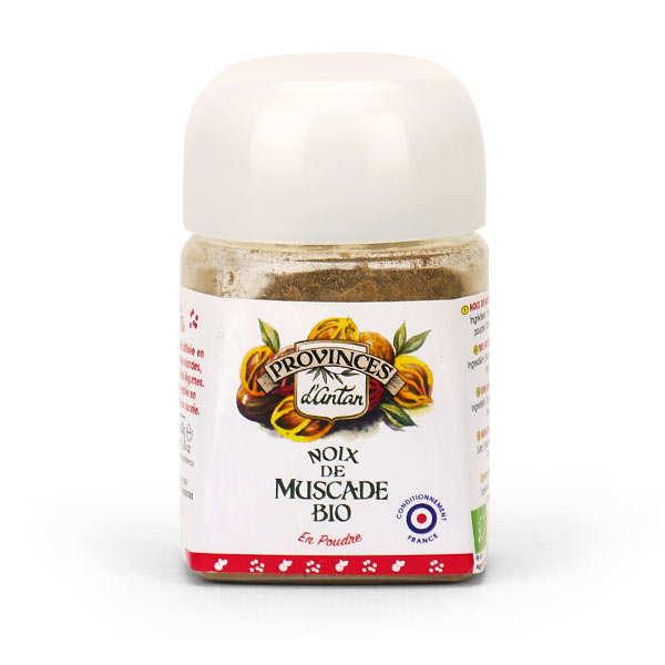 Organic Ground Nutmeg Provence d'Antan