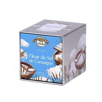 Provence d'Antan - Organic Fleur de sel - French Sea Salt - Metal Box