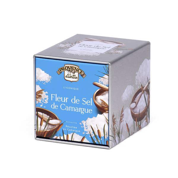 Organic Fleur de sel - French Sea Salt - Metal Box