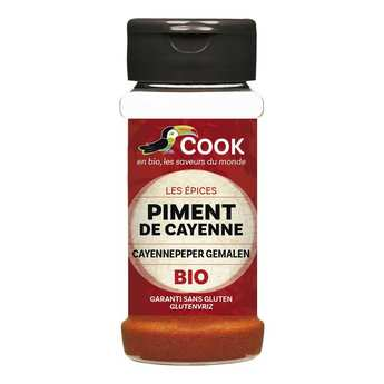 Cook - Herbier de France - Organic Grounded Cayenne Red Pepper