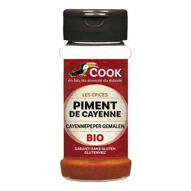 Piment de Cayenne moulu bio