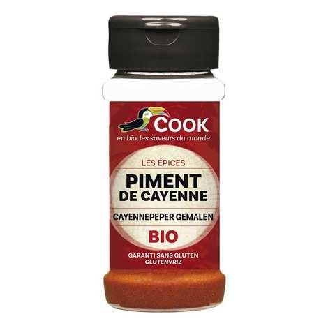 Cook - Herbier de France - Piment de Cayenne moulu bio