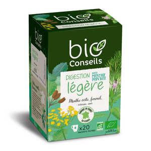 Bio Conseils - Infusion digestion légère Bio