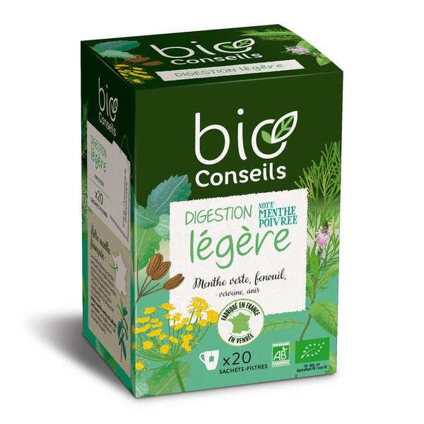 Infusion digestion légère bio - boîte 20 sachets