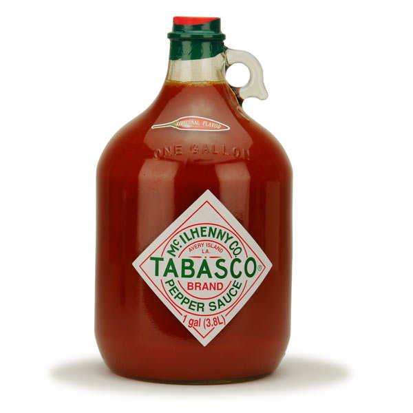Gallon de Tabasco rouge