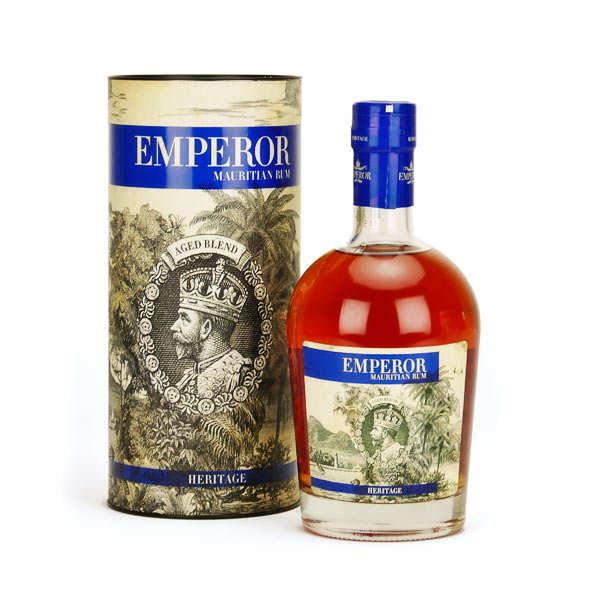 Emperor Heritage - Rhum vieux de l'Île Maurice 40°
